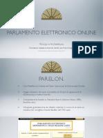 Presentazione Della Piattaforma PARELON Al Teatro Valle