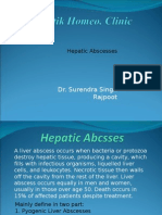 Hepatic Abscess
