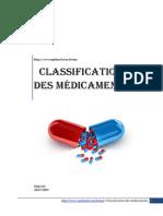 classification des médicaments (1)