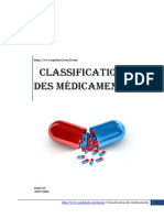 classification des médicaments (1)