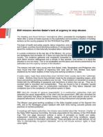 Press Release - QATAR Mission Oct 9