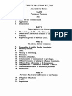 Judicial Service Act, 2005