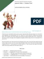 Ragnarok Online 2 _ Panduan Priest _