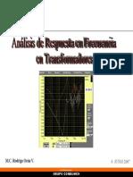 Analisis de Respuesta en Frecuencia Pra Transformadores