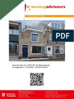 Brochure Voorstraat 27 Ooltgensplaat