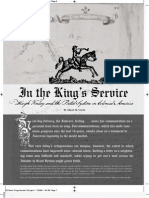 Prologue Magazine - In the King's Service