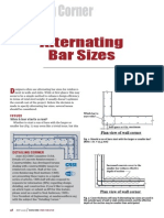 Article - Alternating Bar Sizes - CRSI