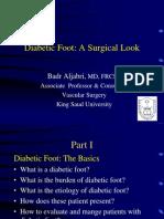 Diabetic Foot Surgical Look