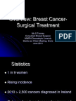 Breast Cancer Surgical Treatment