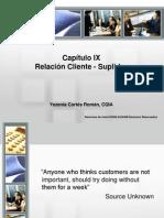 Cap IX Relaciones Clientes-Suplidor