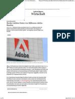 Hacker Stehlen Von Adobe