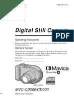 CD Mavica Mvccd300