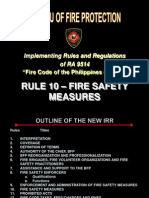 Rule 10 Fire Safety Rev