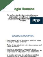 Ecologia Humana..