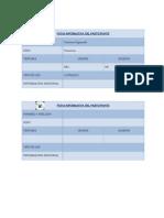 Ficha Informativa Del Participante
