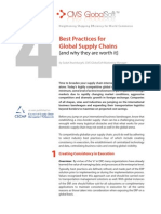 Best Practices for Global Supply Chains {and why they are worth it}