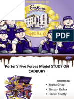 Porter's Five Forces Model cadbury