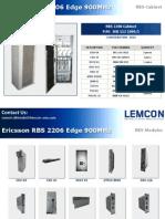 Ericsson Rbs 2206 Edge 900mhz