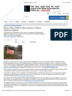 Plans to Place PWD at Tabor Advance; Petition Organized Against