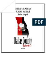 Dallas County Schools 2013-14 Budget