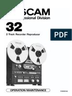 TASCAM 32 Manual