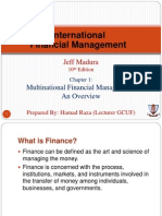 1. Mulitinational Financial Management by Jeff Mudra an Overview