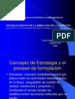 Estrategias y Politicas Corporativas