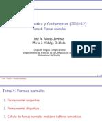 Tema-4 Formas Normales