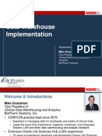 2013 OHSUG - Clinical Data Warehouse Implementation