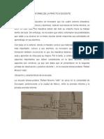 INFORME DE LA PRÁCTICA DOCENTE_(chiara)