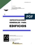 ESPECIFICACIONES GENERALES PARA EDIFICIOS COVENIN 1750-1987.pdf