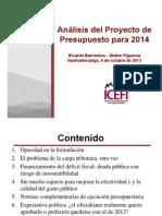 Análisis proyecto de presupuesto 2014 (Cedfog Huehuetenango).ppt [Modo de compatibilidad]