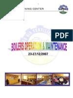 BOILER Operation & Maintenance 23-12-2007 ABU QIR