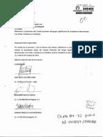 Carta Pacho Santos