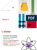 Chimie BI - T2 - Structure Atomique