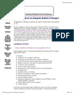 Excel Practical for Stat