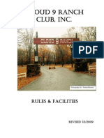 Cloud 9 Ranch Club - Rule Book