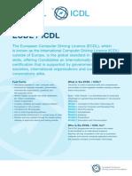 ECDL Info Sheet