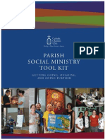 2013 Annual Gathering Parish Social Ministry Institute Tool Kit