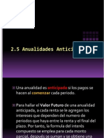 2.4 ANTICIPADA