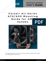 Corsair A70-A50 Mounting Information -AMD