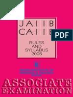 jaiibcaiibsyllabus-2006