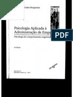 Aula 10 - 091013 - Teorias Fundamentais Sobre a Personalidade - Bergamini. Teorias Da Personalidade
