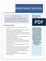 Indian Medical Students' Association Activities till April 2013