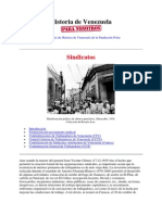 T5 ST07 N1 Historia de Venezuela Sindicatos