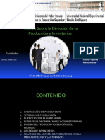 Análisis Sobre la Dirección de la Producción e Inventarios