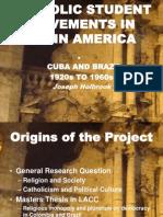 Catholic Student Movements 1920s-1960s