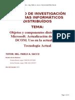 Objeto y Componente Distribuidos DCOM