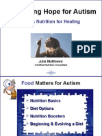 Nourishing Hope for Autism Diet & Nutrition for Healing