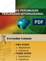 Perumusan Perjanjian Internasional